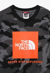 The North Face - BOX TEE - T-shirt med print - black - 3