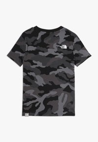 The North Face - BOX TEE - T-shirt med print - black - 1