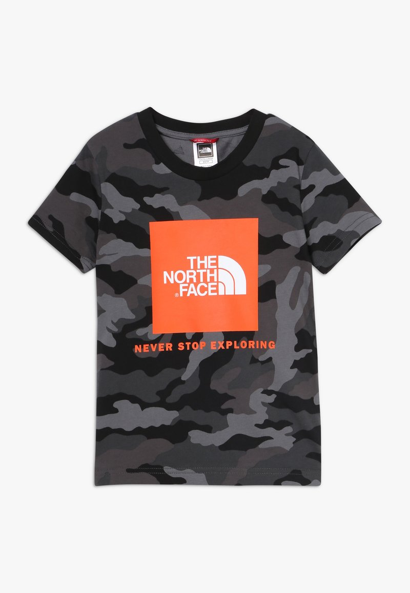 The North Face - BOX TEE - T-shirt med print - black