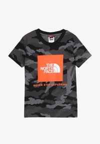 The North Face - BOX TEE - T-shirt med print - black - 2