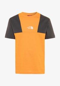 The North Face - YOUTH YAFITA TEE - T-shirt print - flame orange - 0