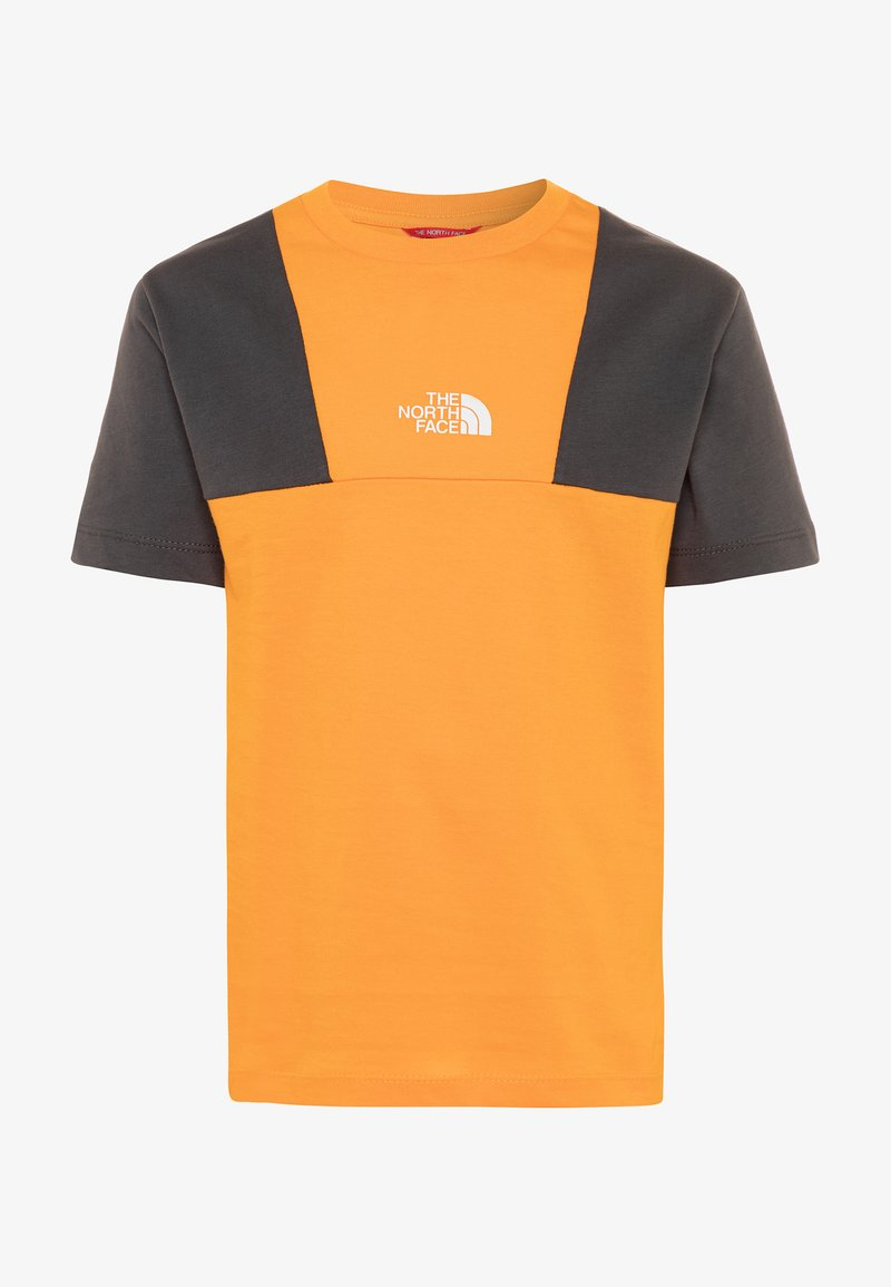 The North Face - YOUTH YAFITA TEE - T-shirt print - flame orange