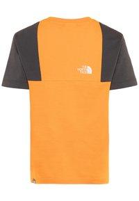 The North Face - YOUTH YAFITA TEE - T-shirt print - flame orange - 1