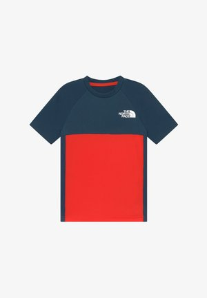 BOYS REACTOR TEE - T-shirt con stampa - fiery red