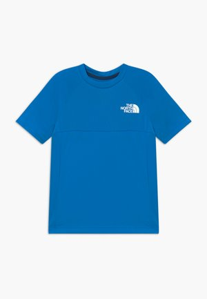BOYS REACTOR TEE - Print T-shirt - clear lake blue