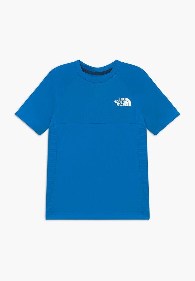 BOYS REACTOR TEE - Print T-shirt - clear lake blue
