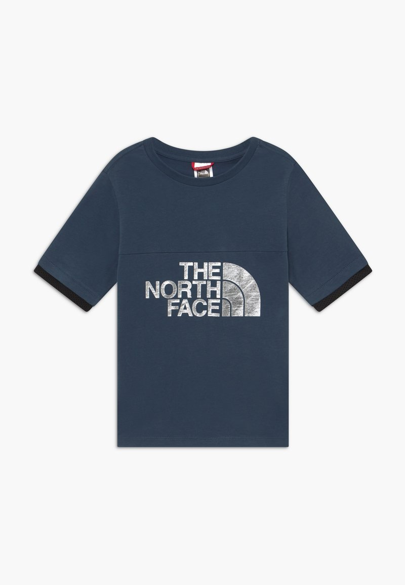The North Face - GIRLS RAFIKI TEE - T-shirt imprimé - blue wing teal