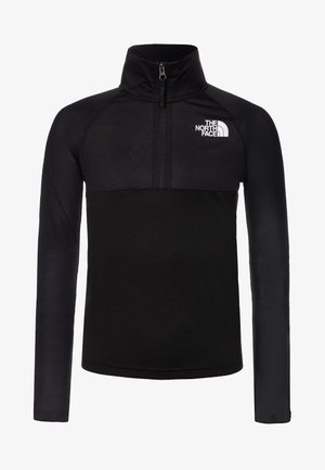 BOY'S REACTOR 1/4 ZIP - Sportshirt - black