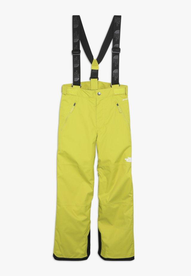 SNOW PANT - Pantalón de nieve - citro green