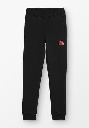 SLIM FIT - Teplákové kalhoty - black