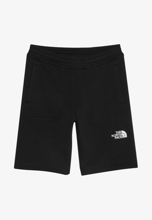 YOUTH - kurze Sporthose - black/white