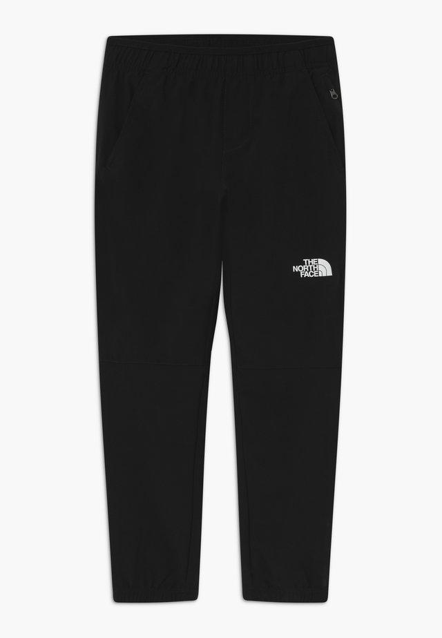 BOY'S ESKER - Spodnie materiałowe - black