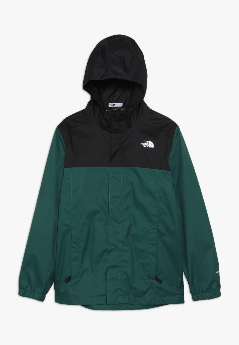The North Face - RESOLVE - Hardshell jacket - night green