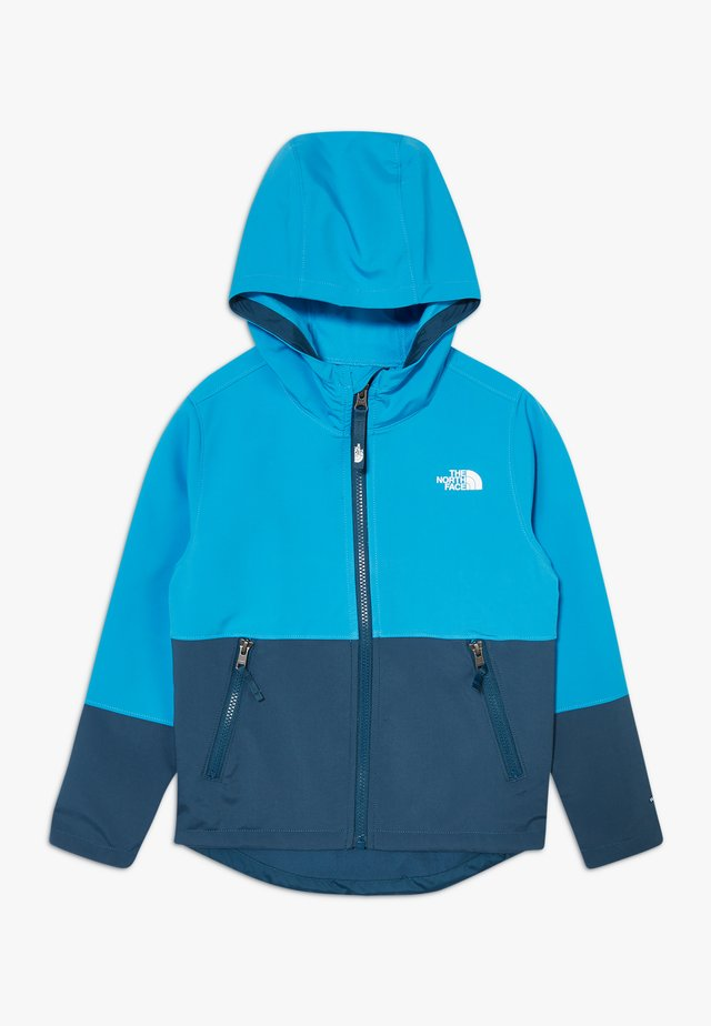 BOY'S - Chaqueta softshell - clear lake blue