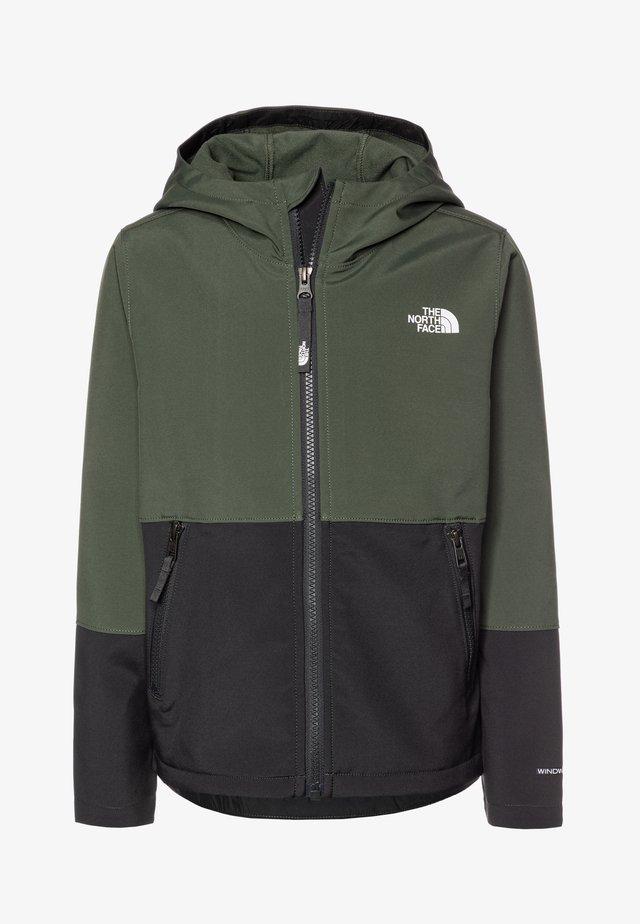 BOY'S - Soft shell jacket - thyme
