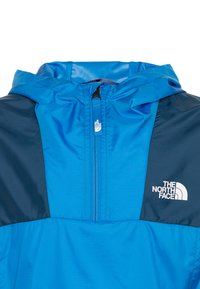 The North Face - YOUTH YAFITA WIND 1/4 ZIP - Giacca hard shell - clear lake blue - 3