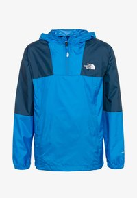 The North Face - YOUTH YAFITA WIND 1/4 ZIP - Giacca hard shell - clear lake blue - 0