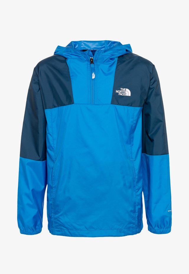YOUTH YAFITA WIND 1/4 ZIP - Hardshellová bunda - clear lake blue