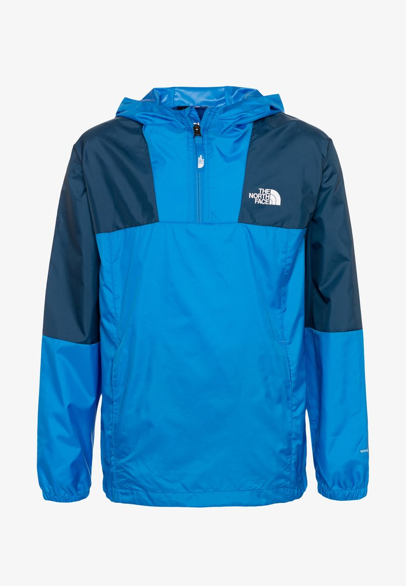 The North Face - YOUTH YAFITA WIND 1/4 ZIP - Giacca hard shell - clear lake blue