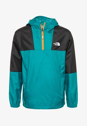 YOUTH YAFITA WIND 1/4 ZIP - Hardshellová bunda - fanfare green