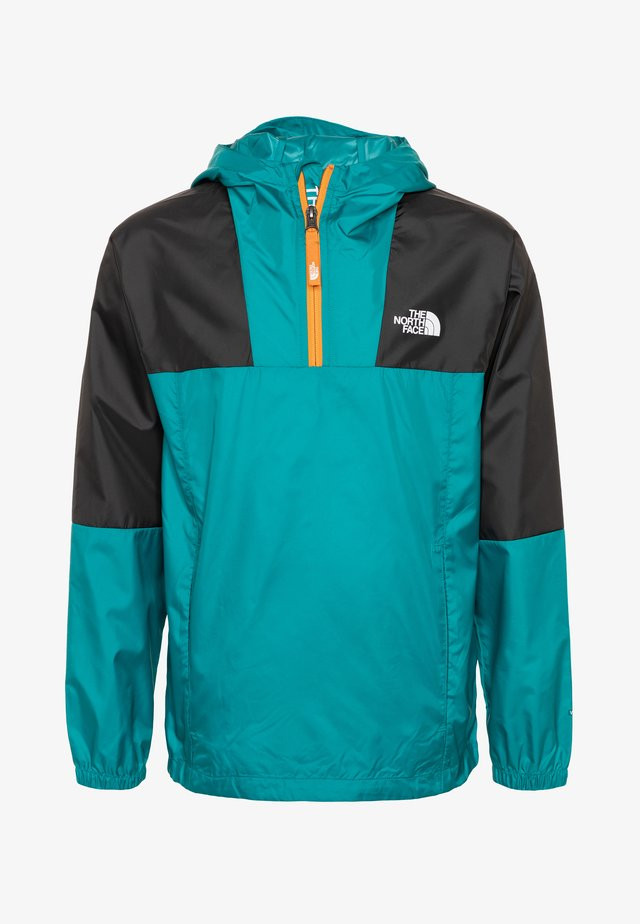 YOUTH YAFITA WIND 1/4 ZIP - Kurtka hardshell - fanfare green