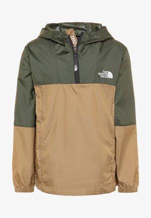YOUTH YAFITA WIND 1/4 ZIP - Hardshell jacket - thyme