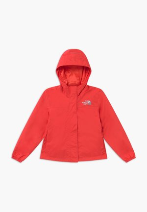 GIRLS RESOLVE REFLECTIVE JACKET - Hardshell jacket - cayenne red