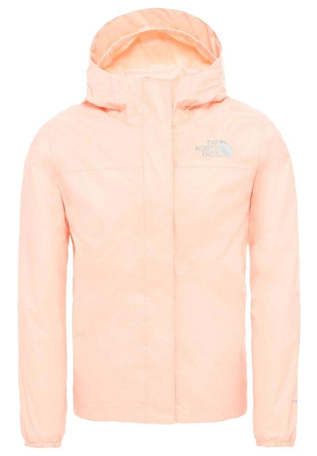 GIRLS RESOLVE REFLECTIVE JACKET - Hardshell jacket - schwarz/pink (976)