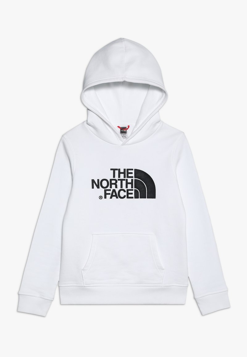The North Face - DREW PEAK - Mikina s kapucí - white/black