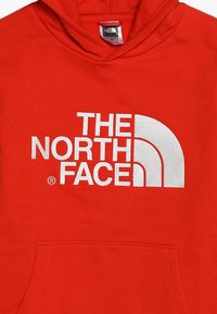 The North Face - DREW PEAK - Mikina skapucí - fiery red/white - 4