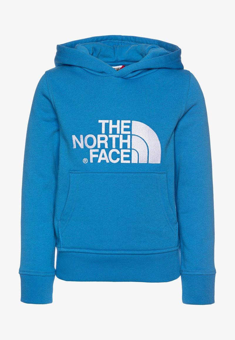 The North Face - DREW PEAK - Felpa con cappuccio - clear lake blue/white