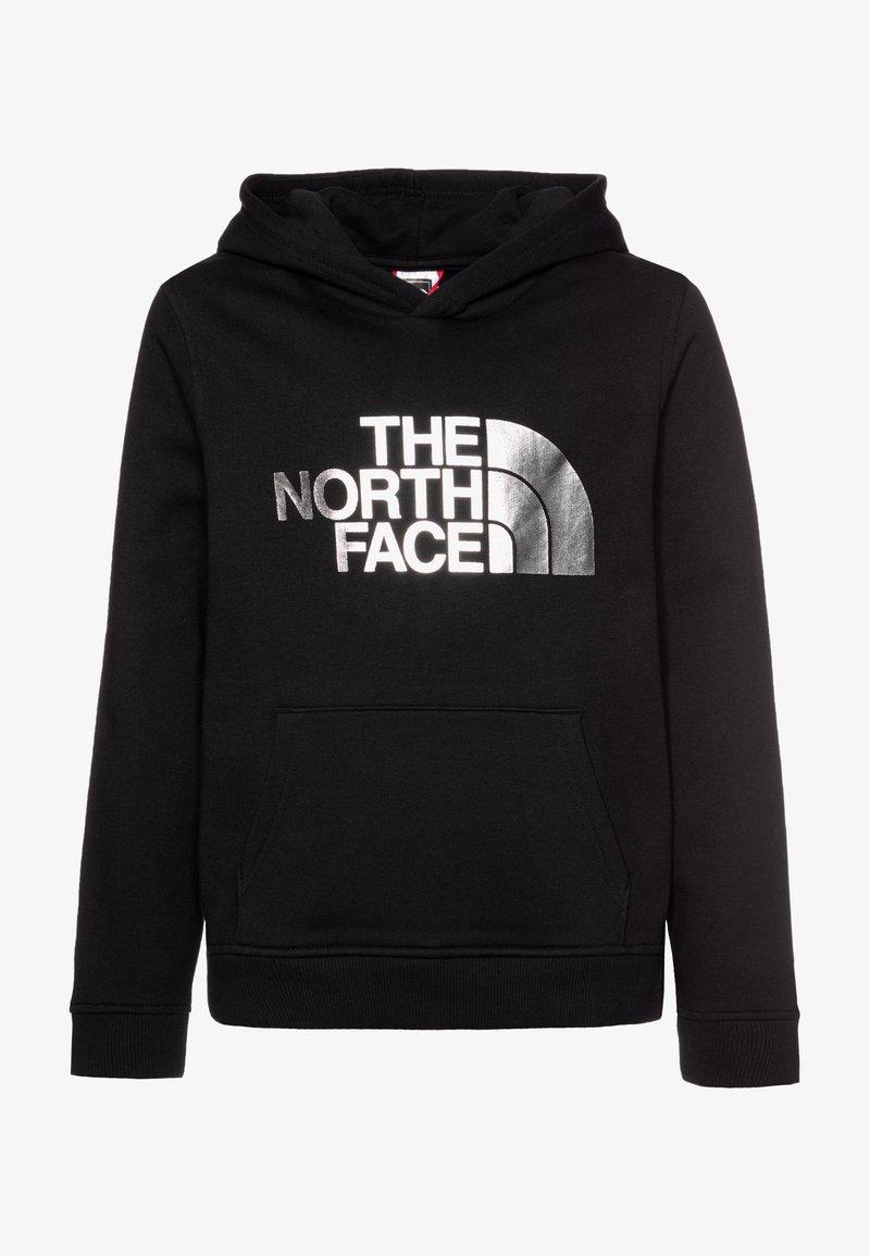 The North Face - DREW PEAK - Sweat à capuche - black/silver