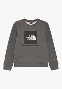 The North Face - YOUTH BOX CREW - Sweatshirt - medium grey heather - 0