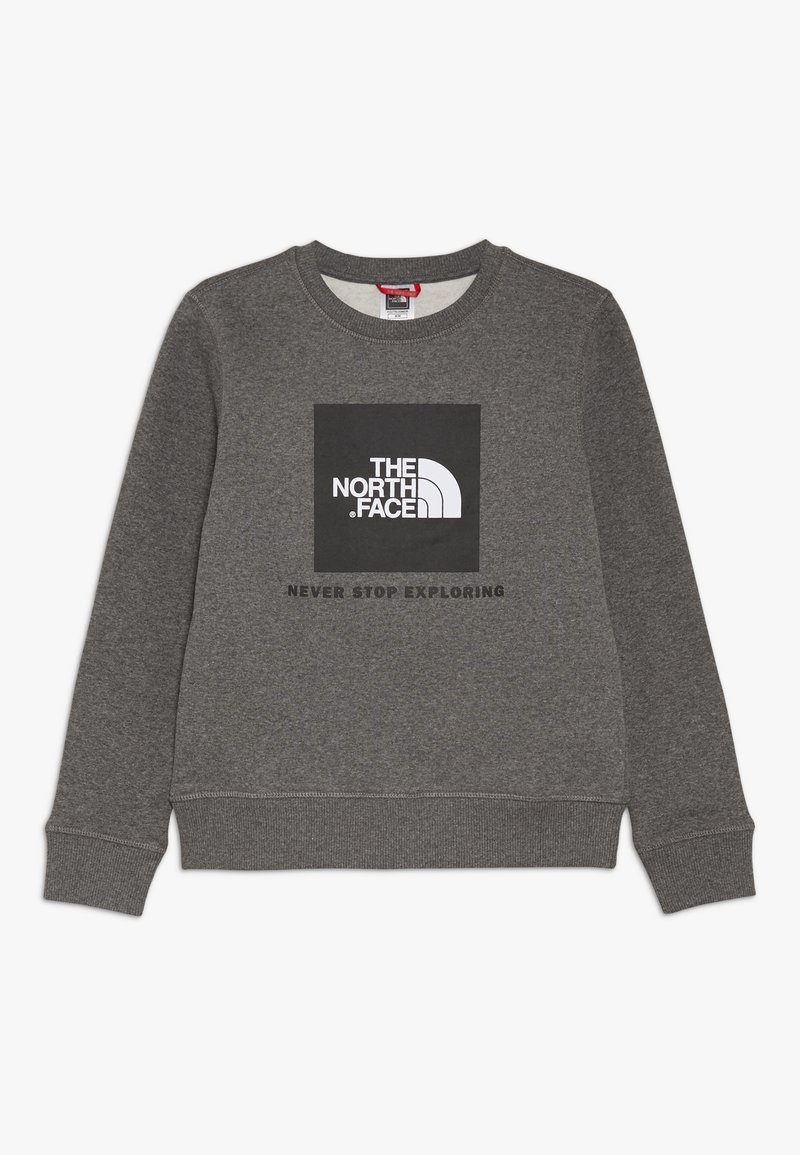 The North Face - YOUTH BOX CREW - Sweater - medium grey heather