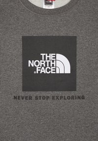The North Face - YOUTH BOX CREW - Sweatshirt - medium grey heather - 3