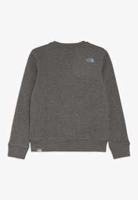 The North Face - YOUTH BOX CREW - Sweatshirt - medium grey heather - 1