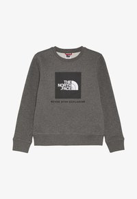 The North Face - YOUTH BOX CREW - Sweatshirt - medium grey heather - 2