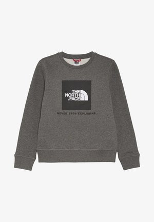 YOUTH BOX CREW - Sweater - medium grey heather