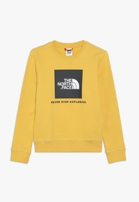 The North Face - YOUTH BOX CREW - Sweatshirt - yellow - 0