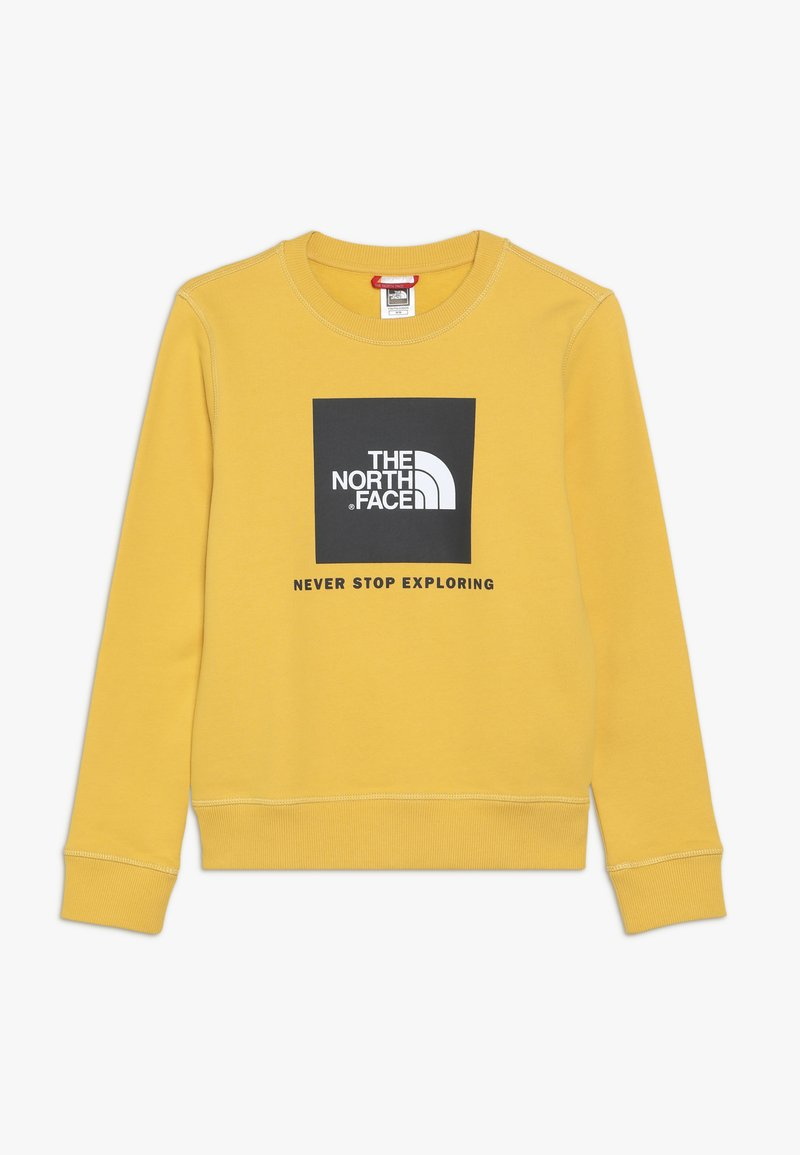 The North Face - YOUTH BOX CREW - Sweatshirt - yellow