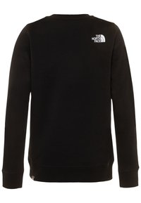 The North Face - YOUTH BOX CREW - Felpa - black - 1