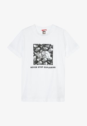 BOX TEE - T-shirt imprimé - white