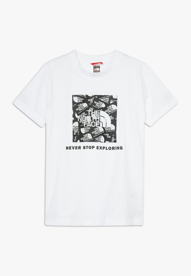 BOX TEE - T-shirt print - white