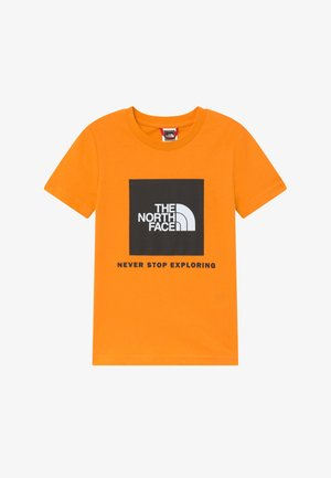 BOX TEE - T-shirt imprimé - flame orange