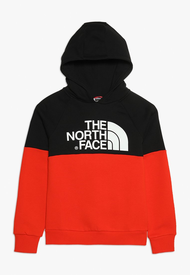 The North Face - Hoodie - red/black