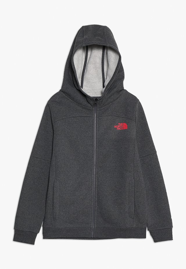 FULL ZIP - Bluza rozpinana - medium grey heather