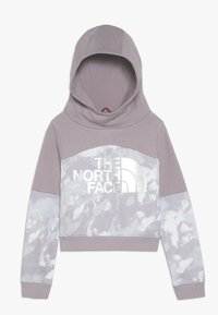 The North Face - CROPPED - Mikina s kapucí - ashenpurple - 0