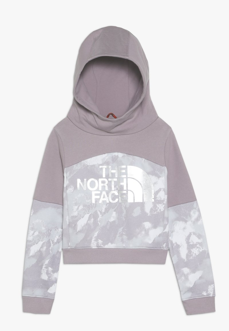 The North Face - CROPPED - Sweat à capuche - ashenpurple
