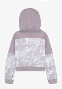 The North Face - CROPPED - Mikina s kapucí - ashenpurple - 1