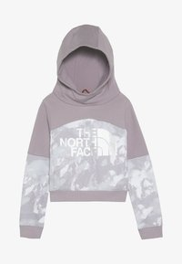 The North Face - CROPPED - Mikina s kapucí - ashenpurple